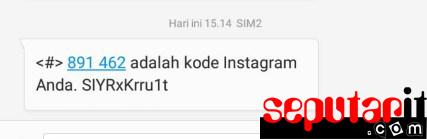 kawan ini cara cara mengatasi akun instagram yg lupa sandi.