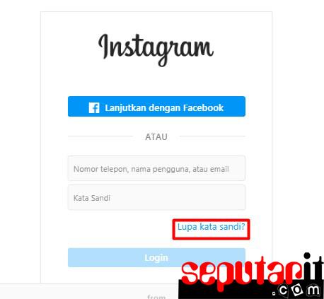 ini dia cara mengatasi lupa kata sandi dan email instagram