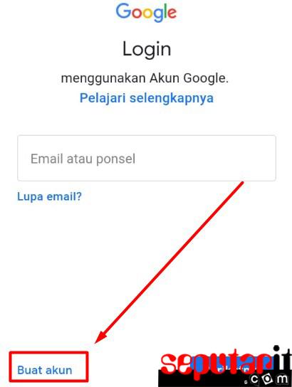 cara sing ini gmail