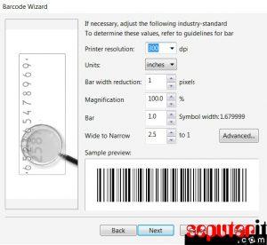 ini cara membuat barcode dengan microsoft word