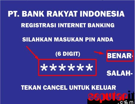 ini dia cara daftar internet bri banking tanpa ke atm