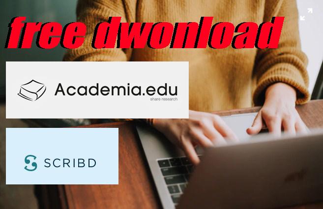cara dwonload file pdf,docx gratis tanpa registrasi,login di academia, scribd