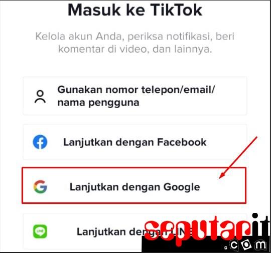 ini dia cara memulihkan akun tiktok yang lupa kata sandi lewat akun google gmail