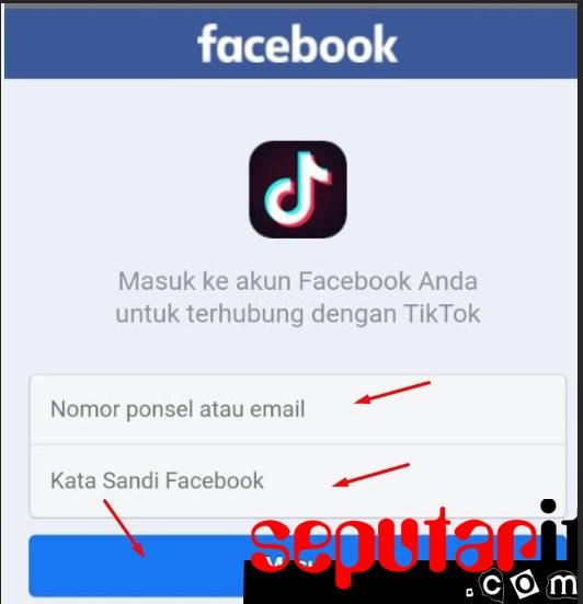 ini dia cara mengatasi,memulihkan lupa akun tiktok lewat akun facebook
