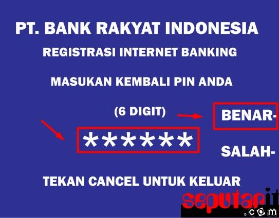 ini dia cara registrasi internet banking bri di atm