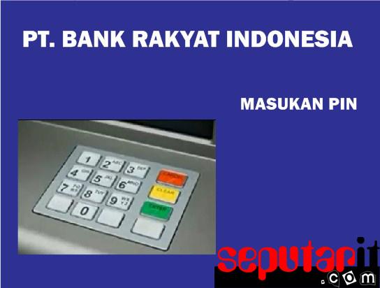 ini cara register internet banking bri.