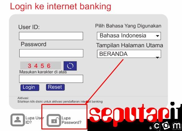 ini dia mengatasi lupa password internet mobile banking bni