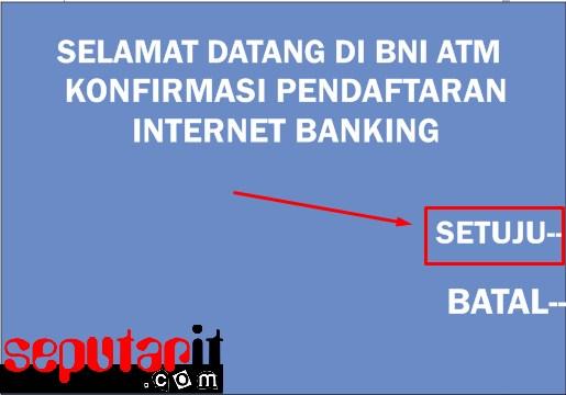 ini dia cara daftar internet banking bni di mesin atm
