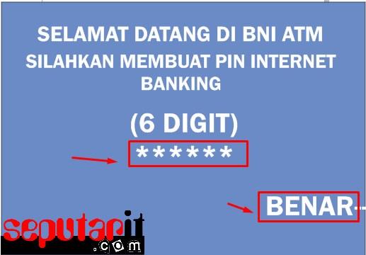 ini dia cara daftar internet banking bni melalui hp.