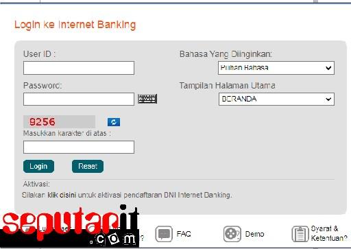 ini dia cara registrasi,daftar,aktivasi internet banking di atm.