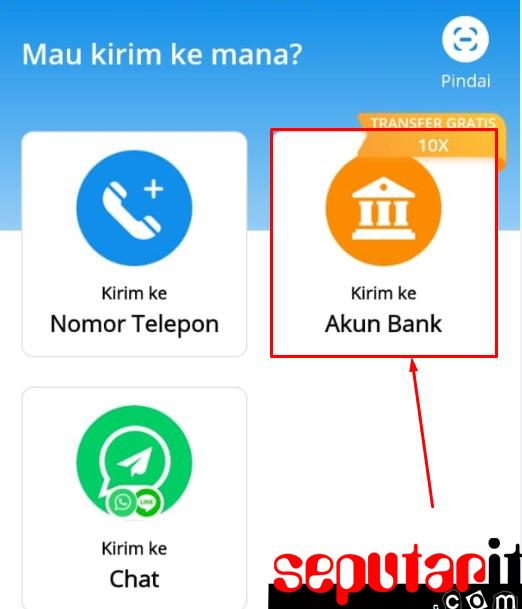 ternyata ini cara transfer dari dana ke bank bri bni bca mandiri btn permata