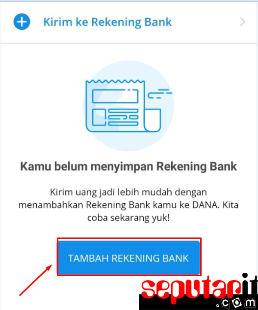 ternyata ini cara transfer saldo dana ke bank.