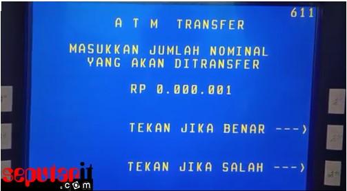 berikut cara transfer bni ke bank lain