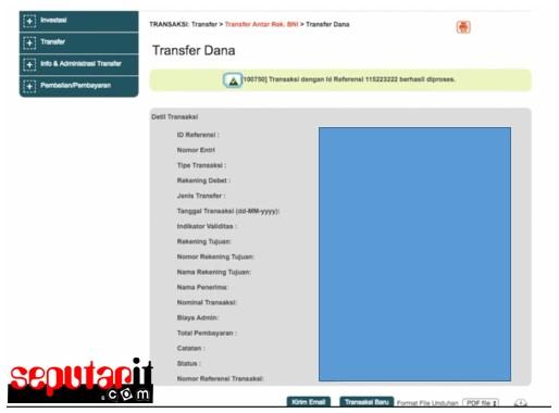 ini merupakan kode transfer bni ke bank lain