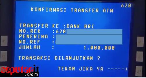 ini guys kode transfer bni ke bri
