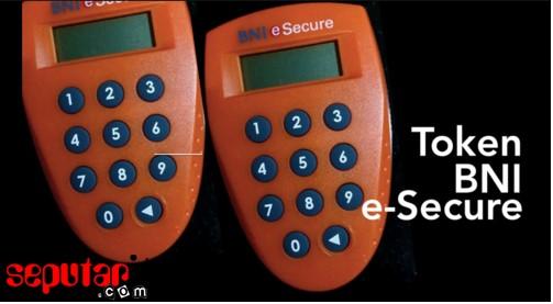 ini adalah token bni e secure internet banking