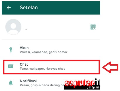 jadi ini cara backup chat whatsapp ke email