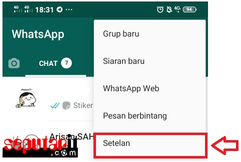 berikut cara ganti wallpaper whatsapp