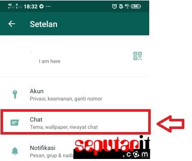 ini dia tentang cara mengganti wallpaper atau background chat whatsapp