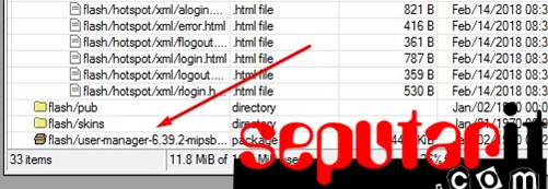 ini tutorial cara install userman di mikrotik