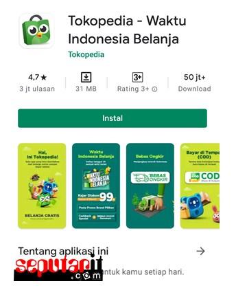 salah satu e-commerce untuk untuk membayar BPJS