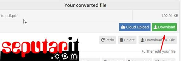 ini cara buat file pdf di wordpad