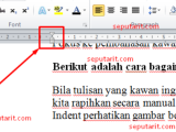 Cara Merapikan Tulisan pada Microsoft Word