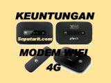 Keuntungan Membeli Modem WiFi 4G