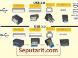 Perbedaan USB 2.0 dan 3.0 Beserta Penjelasannya