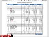 cara memindahkan data dalam tabel Microsoft Excel ke word tanpa merubah format