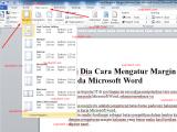 cara mengatur margin halaman pada microsoft word