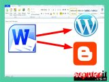 cara posting aritel blog di microsoft word