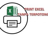 print excel tanpa terpotong